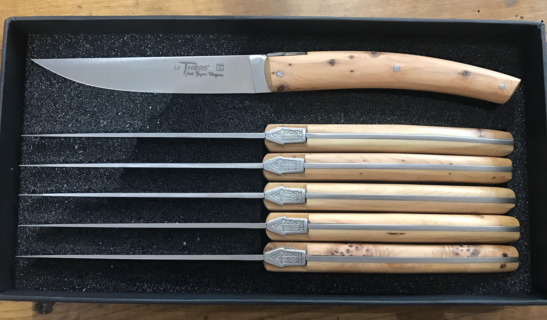 Couteaux De Table Le Thiers Le Thiers Pirou Table Genevrier Couteau Thiers Genevrier