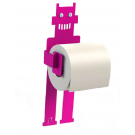 Hot pink toilet time