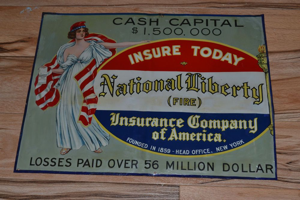 Antique National Liberty Fire Insurance Company Of America