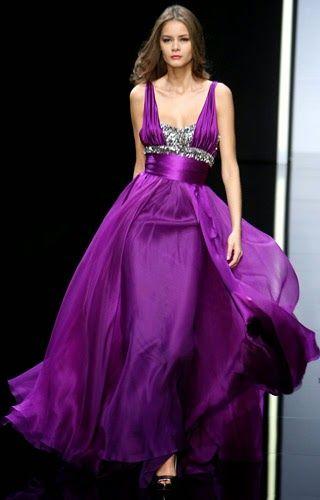 مجلة جمال حواء فساتين سواريه للمحجبات لونها موف Formal Dresses Dresses Halter Formal Dress