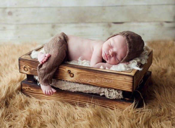 Cute diy newborn photography props ideas 07