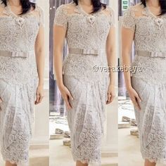 White Kebaya Moderen Dress Kebaya Kebaya Kebaya Indonesia
