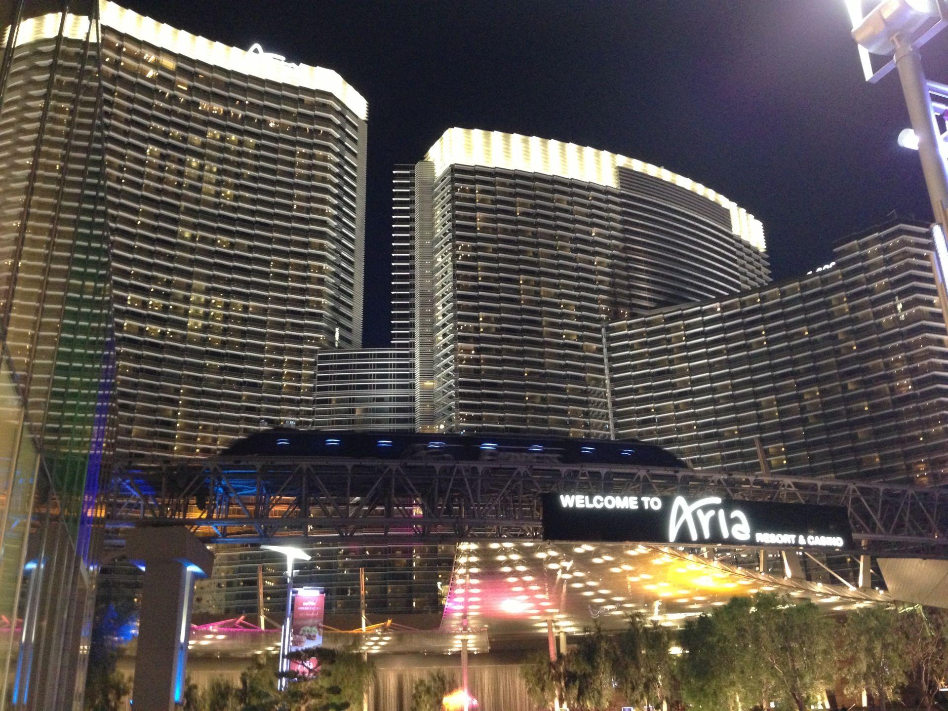 Mgm Citycenter Aria Resort Casino Main Entrance Canopy Novum