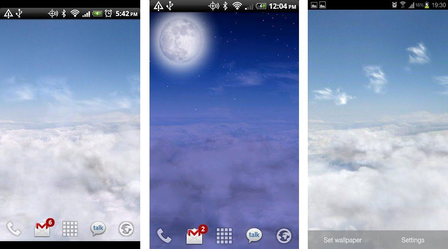 Weather Sky Live Wallpaper Android Apps on Google Play