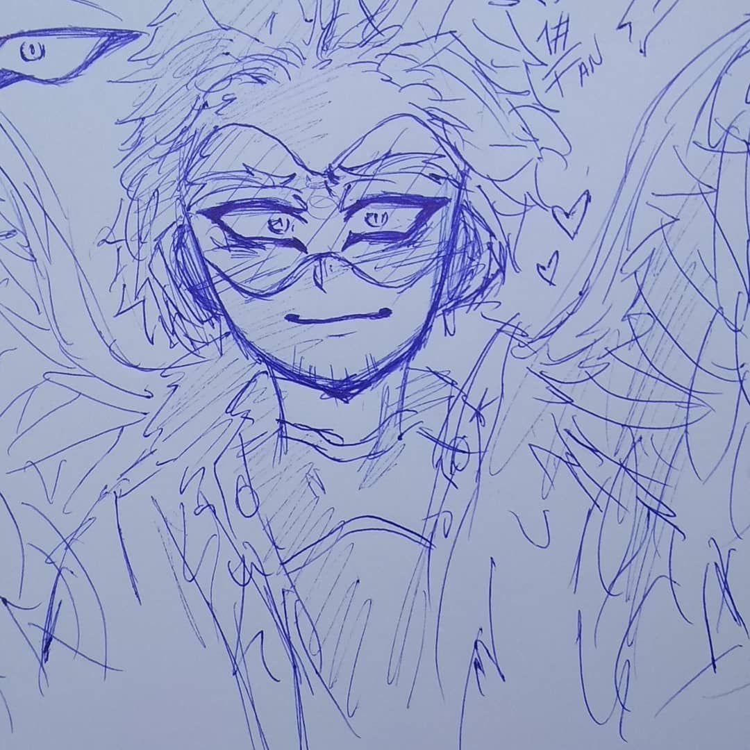 Quick Sketch Of Our Cutie Hawks 3 Quicksketch Bnha Bokunoheroacademia Myheroacademia Sketch Art Boceto Hawks Bnhahawks Cu Sketch Book Sketches Hero