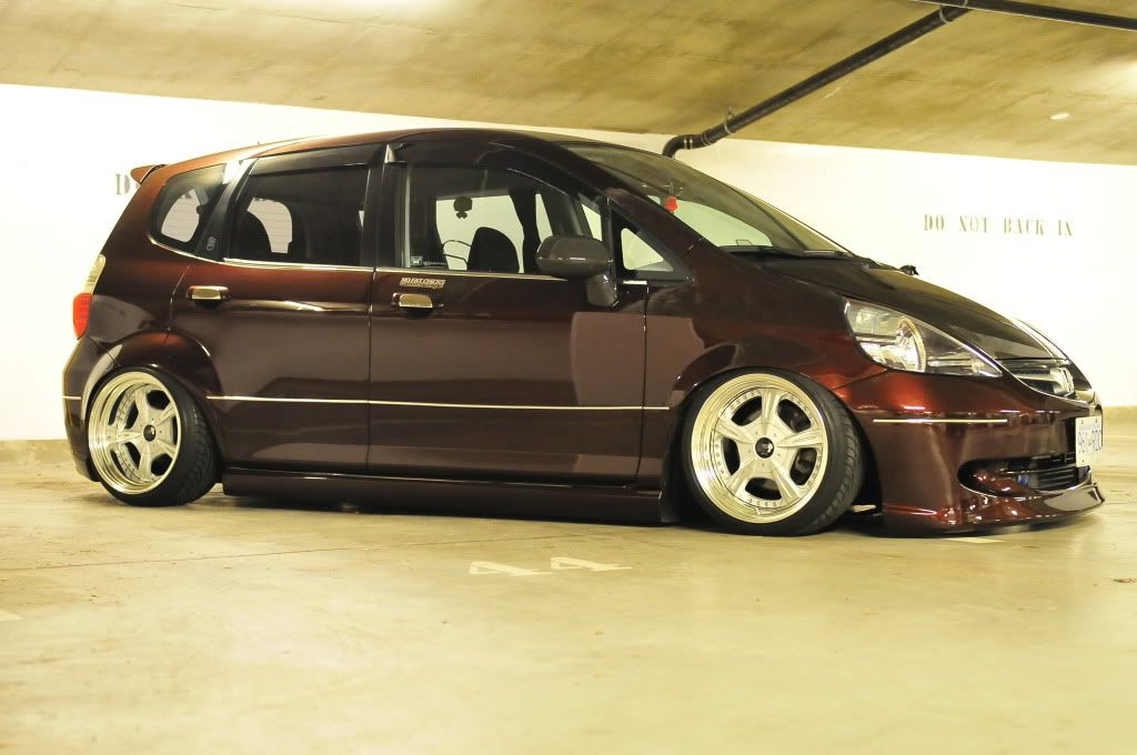 *9UP* Air'd Out Honda Fit GD3 Honda fit, Honda, Honda jazz
