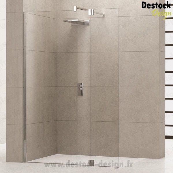 paroi de douche fixe avec retour giada h2 salle de bain pinterest paroi de douche fixe. Black Bedroom Furniture Sets. Home Design Ideas