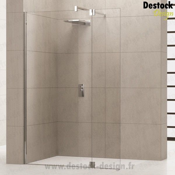 paroi de douche fixe avec retour giada h2 paroi de douche douche paroi de douche fixe