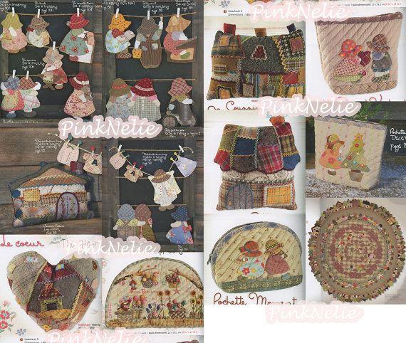 Reiko kato mother 39 s dream friends patchwork english - Reiko kato patchwork ...