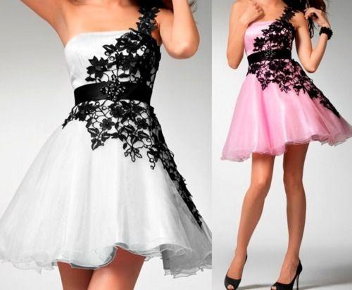Fotos de vestido curto para formatura