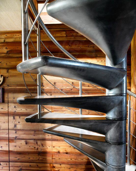 BH1 - SPIR\'DÉCO® Béton en Ductal® - modèle déposé. Escalier ...