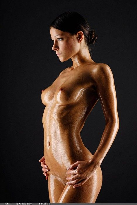 oiled body hot nude