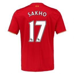 15-16 Liverpool Football Shirt Cheap Home SAKHO #17 Replica Jersey  [PF1506062478]