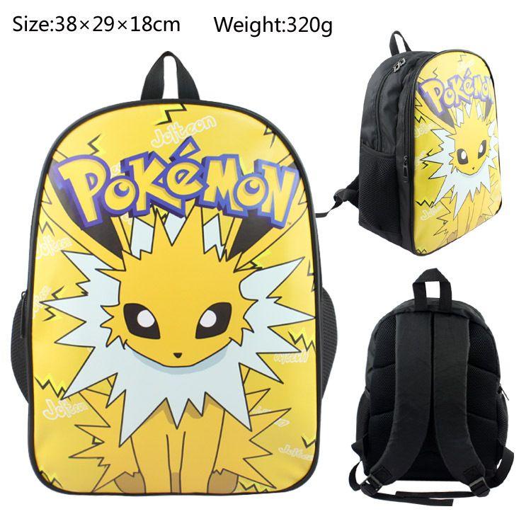 Pokemon Umbreon Backpack Schoolbag Satchel Canvas Shoulder Laptop Bags Gift