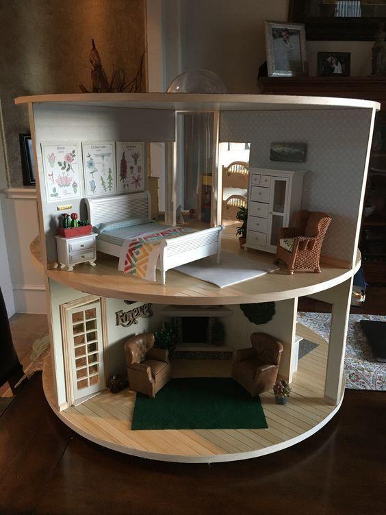 Nr386 bodo Hennig 9x brett 1:10 casas de muñecas muñecas Tube casa de muñecas habitación de muñecas