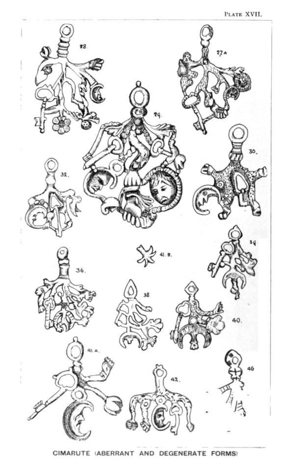 Cimaruta Charm Evil Eye Protection Witches Be Weary Some Of