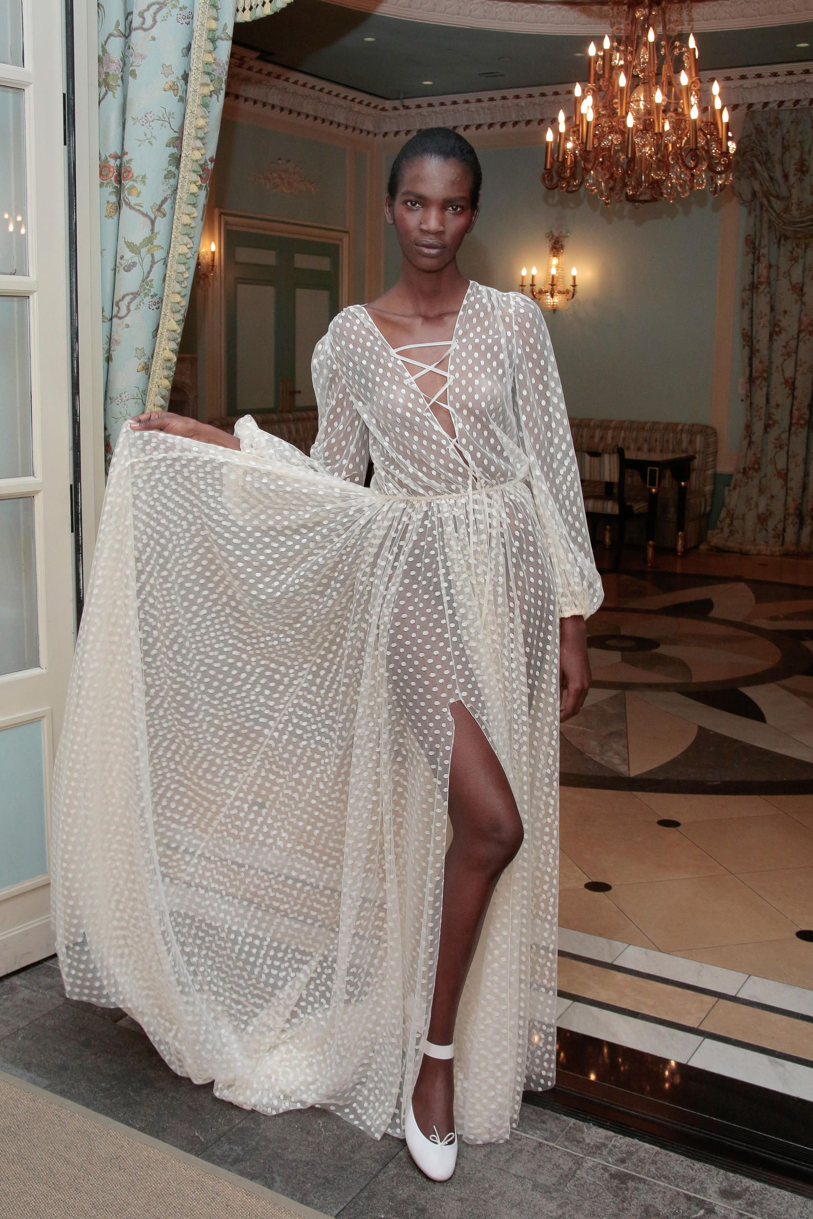 e25206baca4 The 10 Biggest Bridal Trends for Spring 2017 - Fashionista