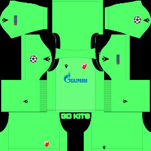 Kits Crvena Zvezda Uefa Champions League 2019 2020 Dls Fts 15 Dream League Soccer 2019 2020 Kits Kits Soccer League Football Tournament Uefa Champions League