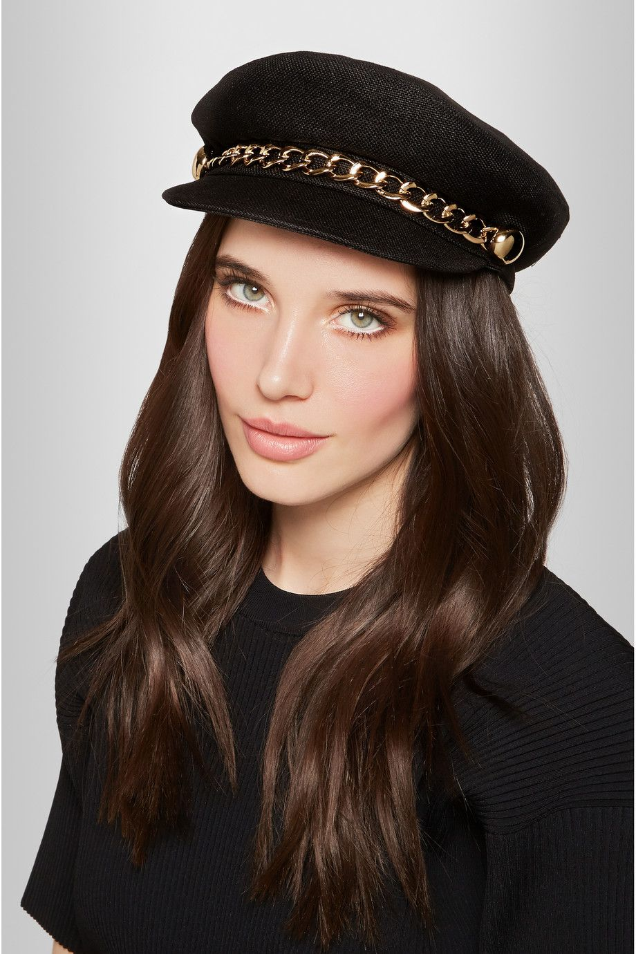 Clearance Finishline Discount Find Great Marina Hat in Black Eugenia Kim Free Shipping Release Dates Sale Shop rX1Lo4o0