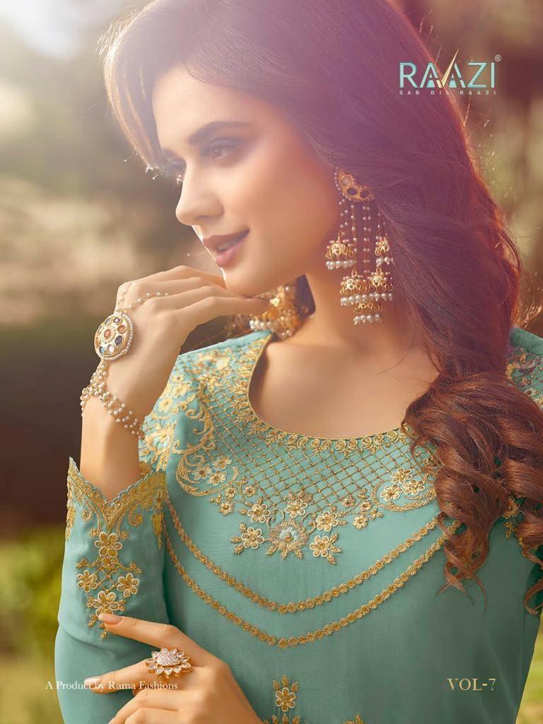 82621b2f07 RAZI VOL 7 RAMA gown wholesaler exporter in surat (19) | BS FASHION ...