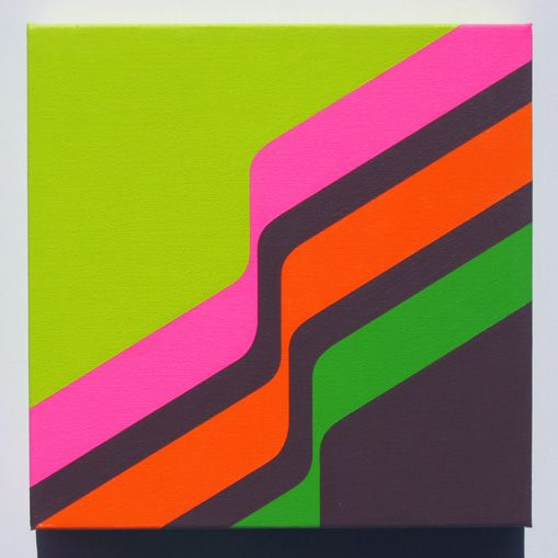 Colorful Minimalist Design: Colorful Minimalist Art By Grant Wiggins
