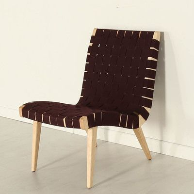 Aubergine Risom Lounge Chair. Unwind And Relax In This Classic Mid Century  Modern Chair