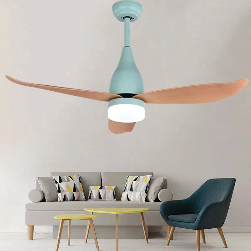 44inch Decoration Led Fan Light For Bedroom Modern Ceiling Fan