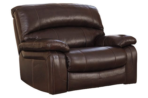 Damacio Oversized Power Recliner By Ashley Homestore Brown