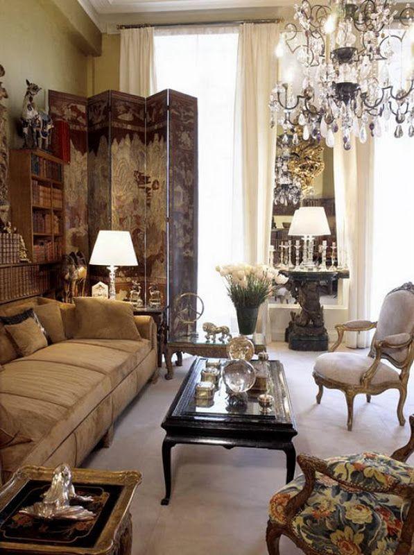 Chez Coco Chanel Dekor, Haus deko, Wohnungen in paris