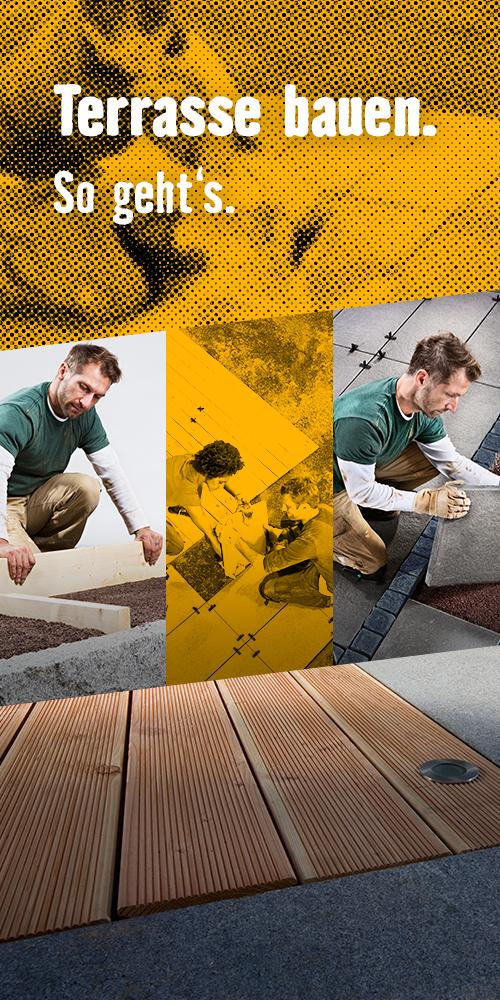 Pin von HORNBACH auf Gartenprojekt - Terrasse bauen ...