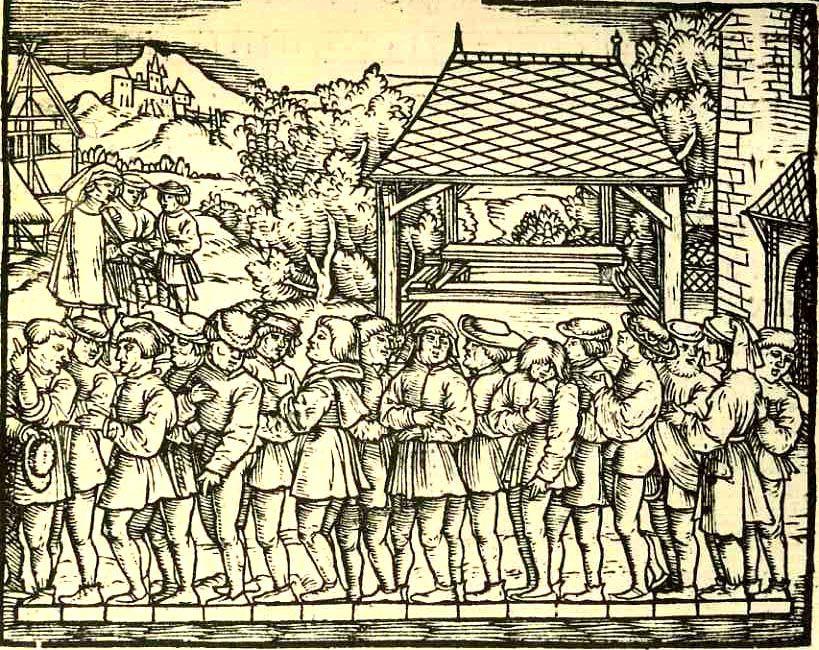 Jacob Koebel 1522 Von Ursprung Der Teilung Mass Und Messung Dess