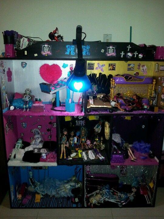 Monster High Doll House Homemade