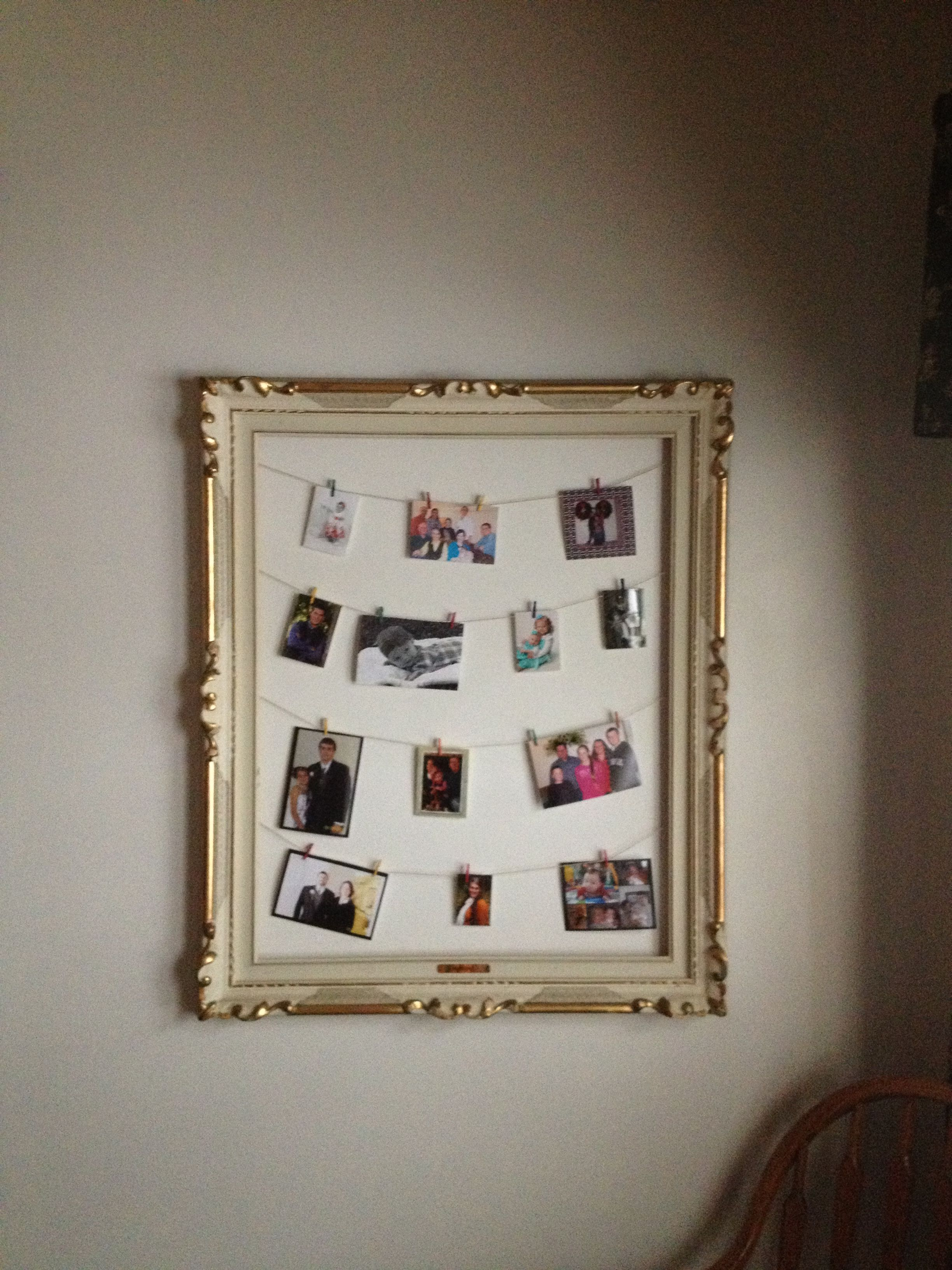 Best Of Picture Frame with Mini Clothespins