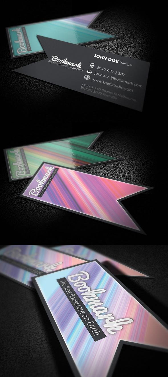 Bookmark Business Card by KaixerGroup on deviantART | Graphic Design ...