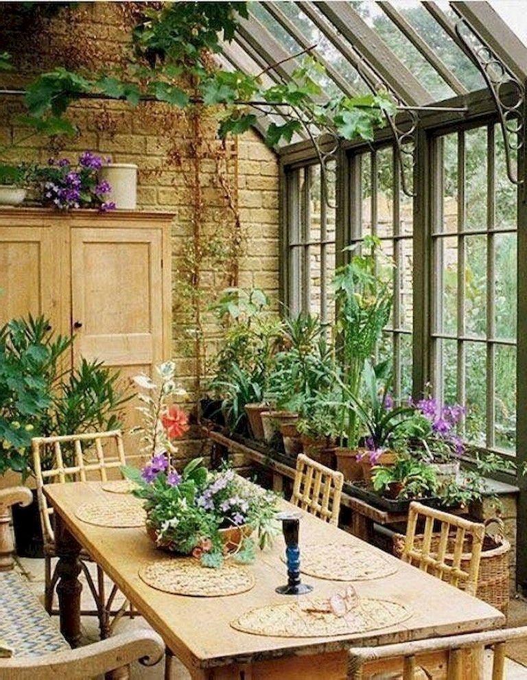 58+ Comfy Modern Farmhouse Sunroom Decor Ideas images
