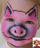 10 Farm Animal Face Painting Ideas Animal Face Paintings Face Painting Animal Faces
