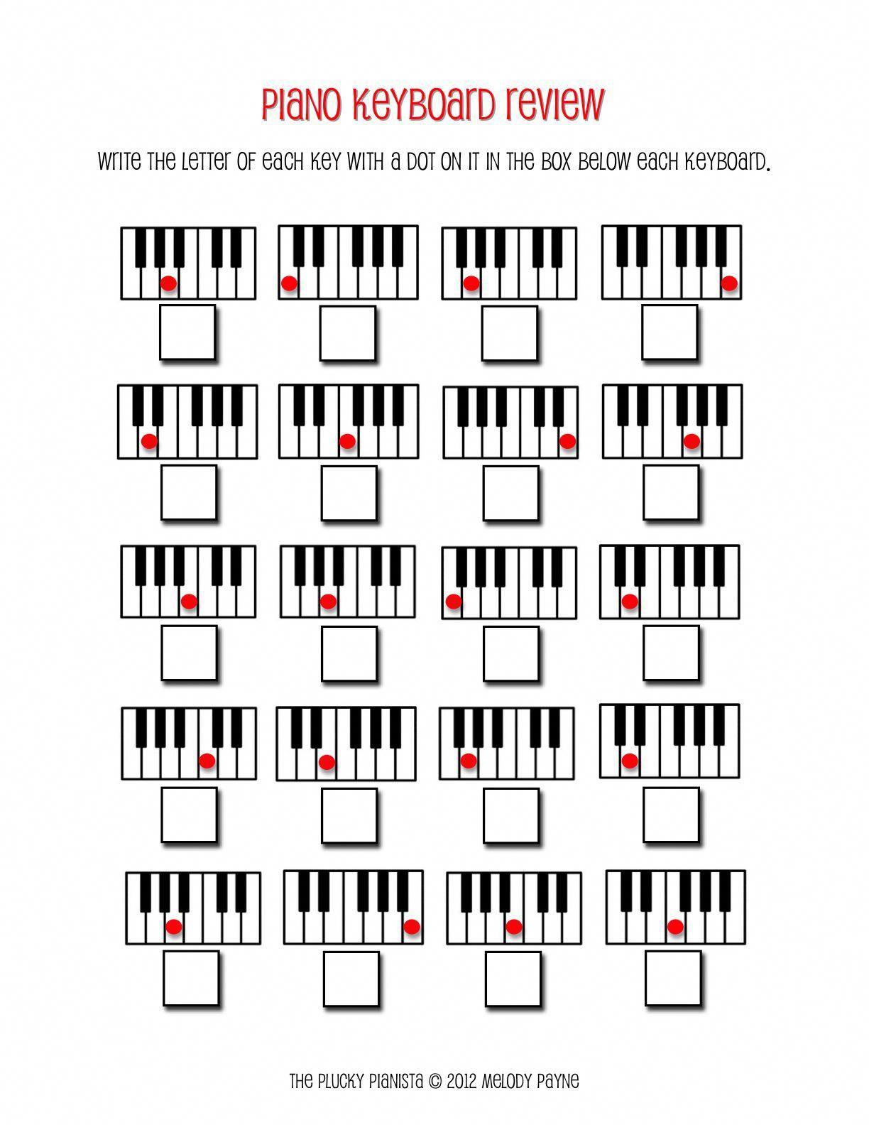 The Plucky Pianista Blog Piano Teaching Ideas Music