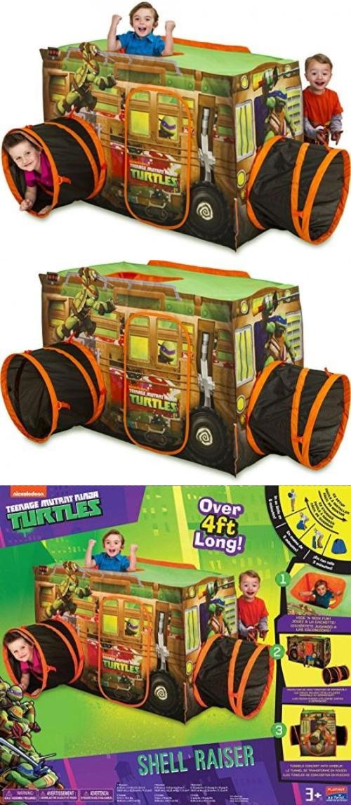 Play Tents 145997 Playhut Teenage Mutant Ninja Turtle Tent Kids Crawl Fun Boys Tunnel Fun  sc 1 st  Pinterest & Play Tents 145997: Playhut Teenage Mutant Ninja Turtle Tent Kids ...