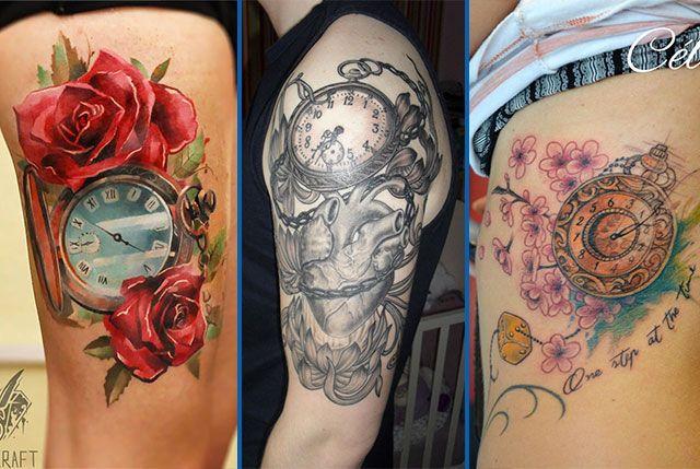 tatouage montre gousset tatouages montre gousset. Black Bedroom Furniture Sets. Home Design Ideas