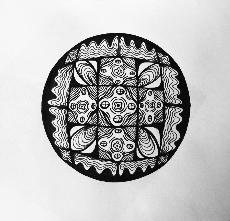 Helios: Original pen & ink illustration by UnityofDuality on Etsy https://www.etsy.com/listing/243758136/helios-original-pen-ink-illustration