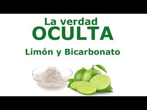 Youtube Bicarbonato Con Limon Bicarbonato De Sodio Bicarbonato