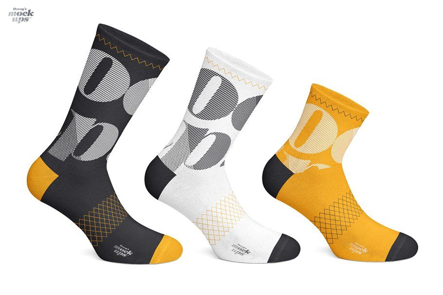 Download Cycling Socks 3 Types Mockup Cycling Socks Mockup Psd Socks