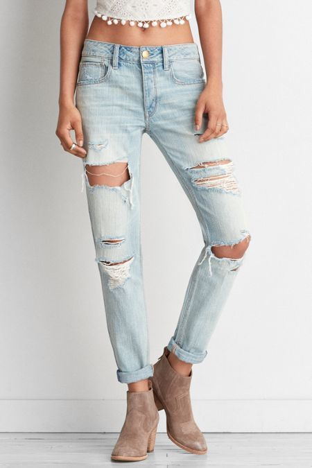 1168c2cb418 American Eagle Outfitters AEO Tomgirl Jeans | Lesley and Eve Blog ...