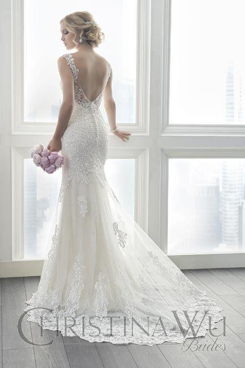 Christina Wu 15625 Wedding Dress Christina Wu Wedding Dress Fit And Flare Wedding Dress Wedding Dresses
