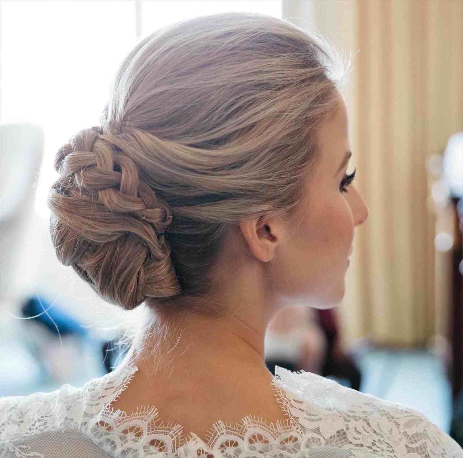Indian Bridal Hairstyles Low Bun Braided Hairstyles For Wedding