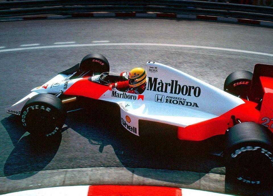 Ayrton Senna - GP de Monte Carlo - Mônaco - 27 de maio de 1990.