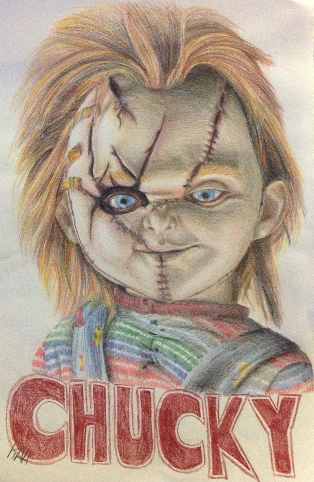 Chucky Poster By Khloealyssa Pictures Of Chucky Chucky Drawing Horror Artwork