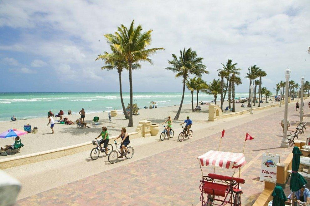 Hollywood Beach Broadwalk Fort Lauderdale Attractions Review