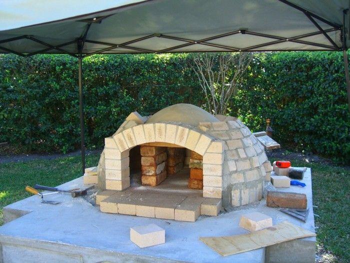 grillkamin und pizzaofen selber bauen | diy - do it yourself,