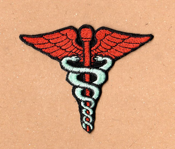 caduceus patch dr horribles singalong blog - Dr Horrible Halloween Costume